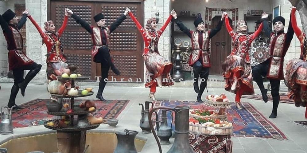 رقص محلی - رقص آذری - آموزش رقص