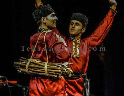 رقص آذری - آموزش در تهران