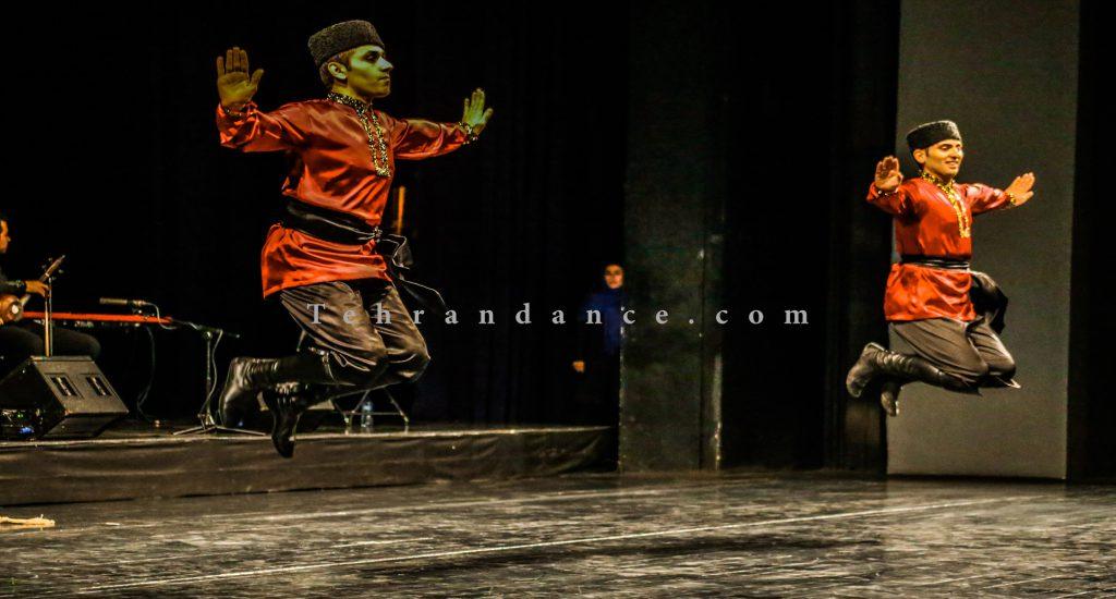 اجرای تالار وحدت/10 آبان/ آموزش رقص آذری
