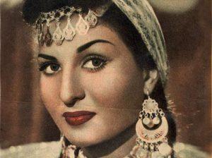 نئما آکف رقصنده و بازیگر عربی