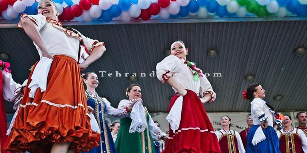 رقص محلی - آموزش رقص